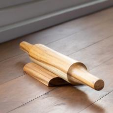 In Teak Wooden Belan with Stand