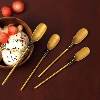 Masai Gold Ice Cream Spoon (Set of 4)