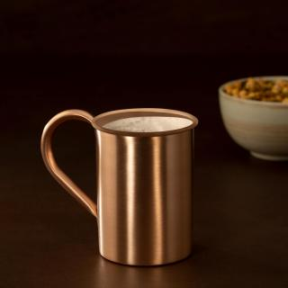 matt copper mug