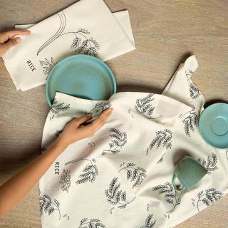 Rice Dish Towel Set of Two