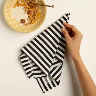 Classic Stripes 100% Cotton Napkin Set of 6