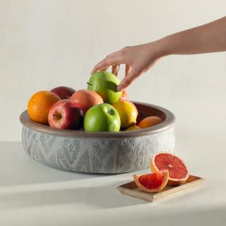 Akoda Bowl with Wooden Rim (Large)- Ecomix