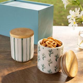 Neve Sage Jar Set of Two