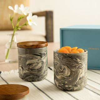 Carbon Jar Set of Two (Small)
