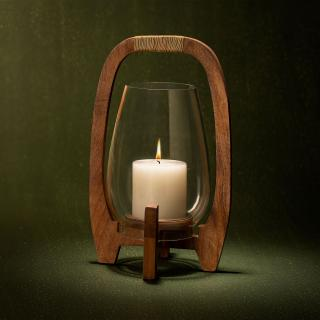 Raga Hurricane Glass Candle Stand