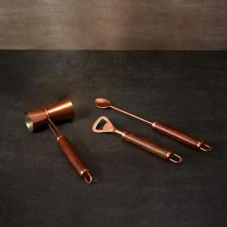 copper metal bar tools (set of 3)