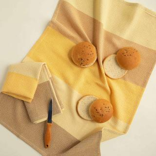 Earthy Cotton Dish Towel Set of Two