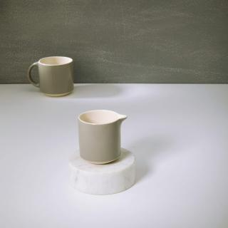 Soul Grey Ceramic Milk Pot