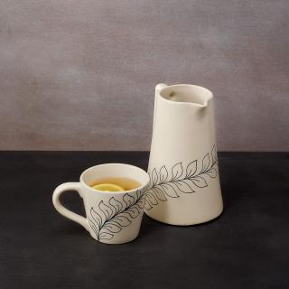 Linea Ceramic Coffee Mug