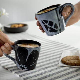 Eclipse Ceramic Coffee Mug Set of 2
