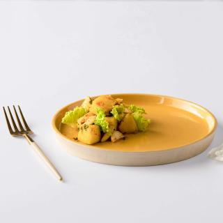 Amber Love Ceramic Side Plate