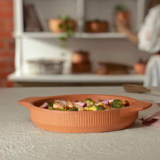 Sienna Terracotta Baking Dish (Large)