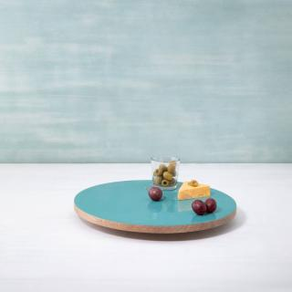 blue orchard lazy susan