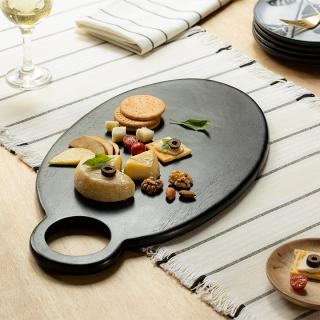 Midnight Mango Wood Cheeseboard (Oval)