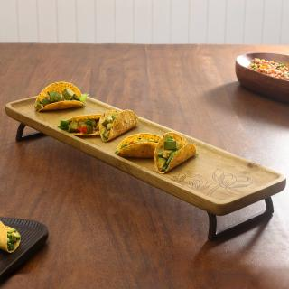 liliana large tray with legs