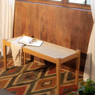 Cane Craft Bench