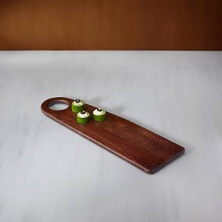 wood cheese/bread board small brown