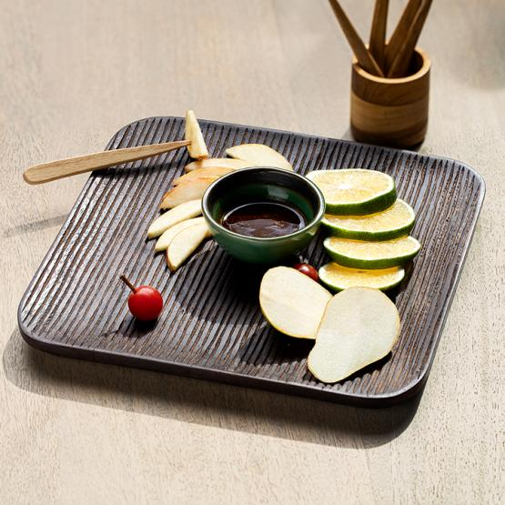 Brunet Mango Wood Platter (Square)
